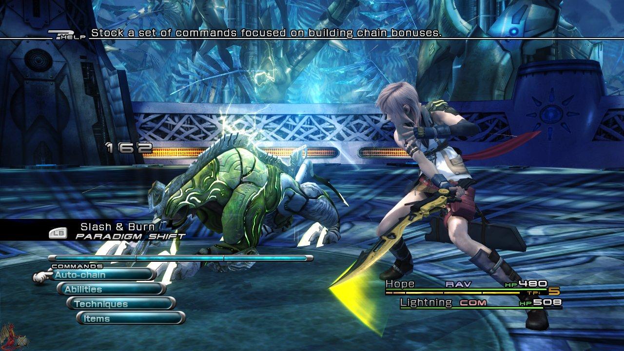 final fantasy XIII combats
