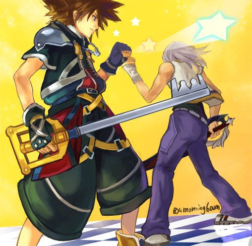 kingdom heart riku et sora
