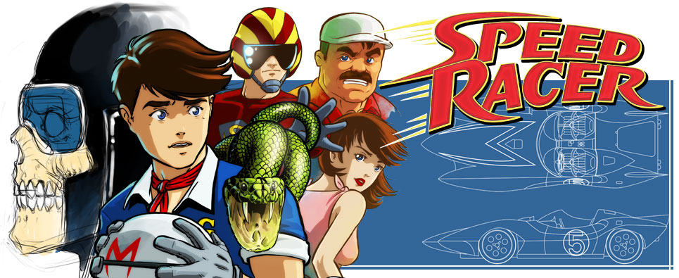 speed racer anime